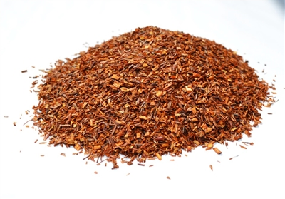 Caffeine-free organic Rooibos red bush from South Africa.