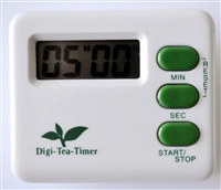 The timer is easy to use and helps get consistent quality tea