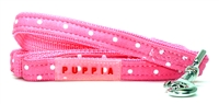 Dotty Pink Dachshund Lead