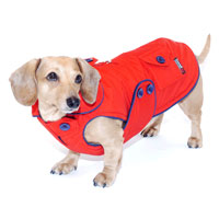 Red Blizzard Dachshund Parka with Thinsulate
