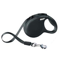 Retractable Black Dachshund Leash