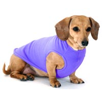 Periwinkle Dachshund Fleece Sweater