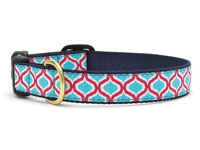Blue and Red Genie Dachshund Collar
