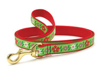 Poinsettia Dachshund Lead