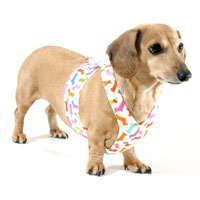 Reversible Dachshunds Galore Easy-Go Never-Choke Dachshund Harness