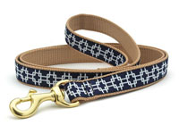 Night Navy Geometry Dachshund Lead