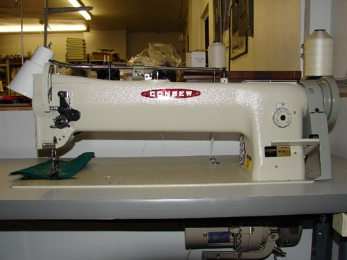 Upholstery Sewing Machine >> Consew 206rbl 18 With Power Stand