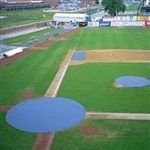 Baseball Field 30 ft. Circular Home Plate Cover