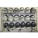 Football Pro Down Wall Mounted Helmet Rack