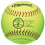 "Diamond 11"" Dixie Youth League Fastpitch Softballs - 6 Dozen"