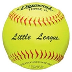 "Diamond 11"" Official Little League Fast Pitch Softballs 11RYSC LL - 6 Dozen"