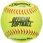 "Diamond 11"" Official League Fastpitch Softballs - 6 Dozen"