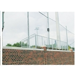 Sports Pre-Cut Field Barrier Boundary Netting 14' x 100'