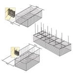 Baseball Batting Cage Indoor Ceiling Cage Net Suspension Kit