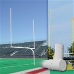 Official High School Gooseneck Football Goalpost
