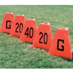 Poly Flag Football Sideline Marker Set
