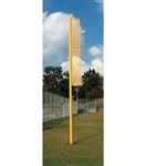 "Baseball 36"" Baseball Foul Pole Ground Sleeves - 1 Pair"