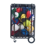 Champion Sports Compact Ball Locker Cart