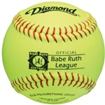"diamond 12"" youth babe ruth league fast pitch softball 12ry br - 1 dozen"