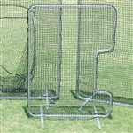 C-Shaped Softball Pitchers Screen
