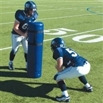 Pro-Down Round Football Blocking Dummy 13 LB