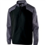 Holloway Raider Long Sleeve Water Resistant Pullover - Adult