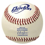baden dixie boys and majors leather game baseball 2bbdbg dozen