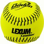 "baden asa approved leather 11"" fastpitch softballs"