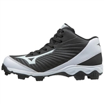 Mizuno 9-Spike Advanced Youth Mid Molded Baseball Cleat - 320552
