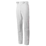 mizuno youth premier piped baseball pant 350149