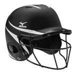 Mizuno MBH252 MVP Fastpitch Batter's Helmet with Mask