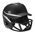 Mizuno MVP MBH252 Batter's Helmet with Poly Facemask.