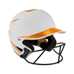 Mizuno F6 Fastpitch Softball Helmet Two Tone w/Mask - 380392