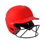 Mizuno F6 Fastpitch Softball Helmet w/Mask - 380395