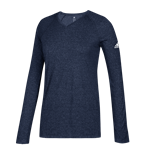 Adidas Climalite Long Sleeve Top - Womens