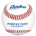 Baden Perfection Collegiate Flat Seam Baseball - Dozen