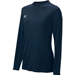 mizuno long sleeve hybrid women's volleyball jersey 440378
