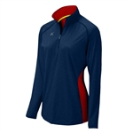 Mizuno Elite 9 Fire 1/2 Zip Volleyball Jacket 440573