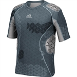 Adidas Men's Techfit Ironskin 5 Pad Padded Shirt
