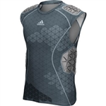 Adidas Men's Techfit Ironskin 5 Pad Sleeveless Padded Shirt
