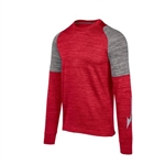 Mizuno Velocity Long Sleeve Crew Pullover - Youth