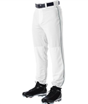 alleson adult baseball game pants piped 605plp
