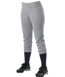 alleson girls softball pants 605plwy