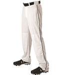 alleson adult baseball game pants piped 605wlb