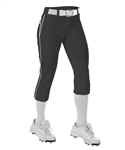 Alleson Womens Belted Knee Hight Fastpitch Pant - Braid