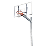 Jaypro The Titan - Fixed Height Acryllic Backboard System