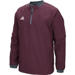 Adidas Men's 1/4 Zip Convertible Jacket