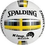 Spalding King of the Beach Plaid Series Volleyball
