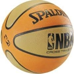 "Spalding NBA Cross Traxxion  27.5"" Basketball"
