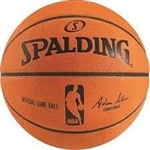 spalding nba official game ball basketball
